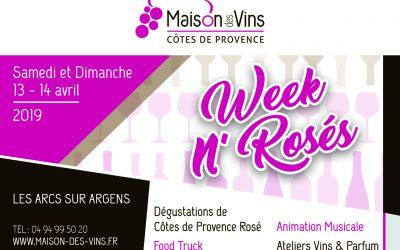 WEEK N' ROSÉS Samedi 13 & Dimanche 14 Avril