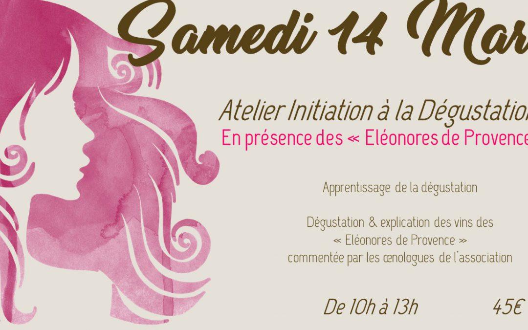 Atelier Vin de Vigneronne – Initiation à la Dégustation