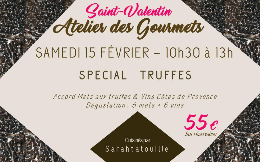 Atelier Saint Valentin : Truffe