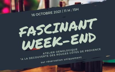 Fascinant Week-End – Samedi 16 Octobre